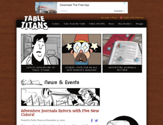 tabletitans.com screenshot