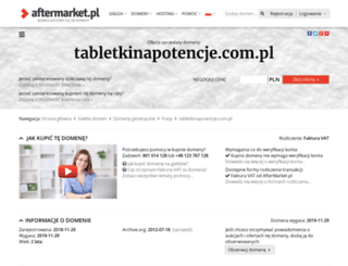 tabletkinapotencje.com.pl screenshot
