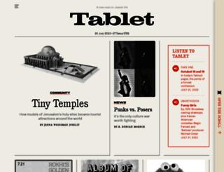 tabletmag.com screenshot