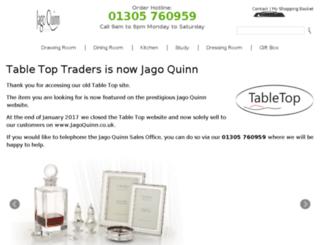 tabletoptraders.co.uk screenshot
