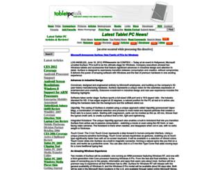 tabletpctalk.com screenshot