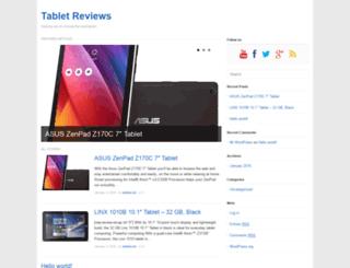 tabletreviews.co.uk screenshot