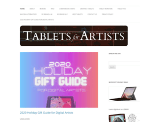 tabletsforartists.com screenshot