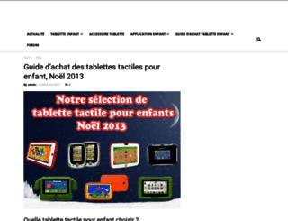 tablette-enfant.com screenshot
