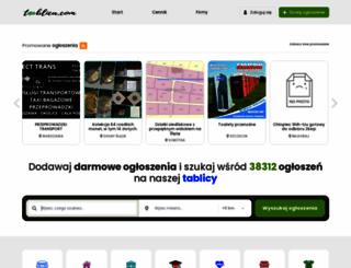 tablica.com screenshot