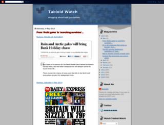tabloid-watch.blogspot.com screenshot