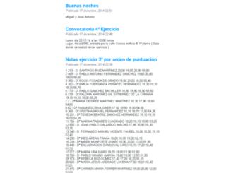 tablon.registradores.org screenshot