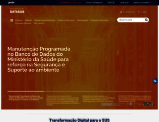 tabnet.datasus.gov.br screenshot