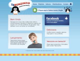 tabonzinho.com.br screenshot