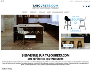 tabourets.com screenshot