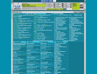 tabs.tabcrawler.com screenshot