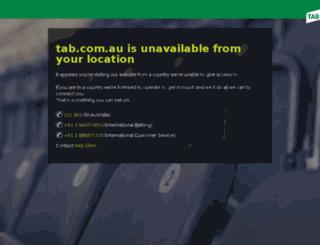 tabsportsbettipping.com.au screenshot