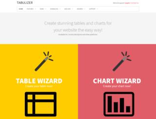 tabulizer.com screenshot