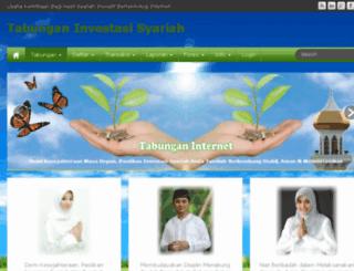 tabunganinternet.com screenshot