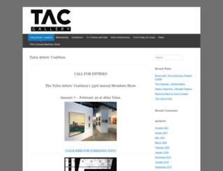 tacgallery.org screenshot