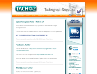 tacho2.com screenshot