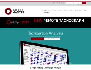 tachomaster.co.uk screenshot