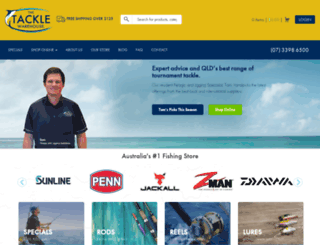 tacklewarehouse.com.au screenshot