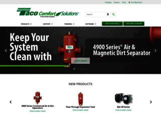 taco-hvac.com screenshot