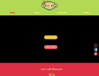 tacobill.com.au screenshot