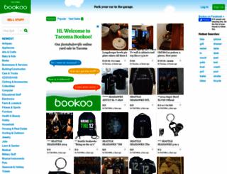 tacoma.bookoo.com screenshot
