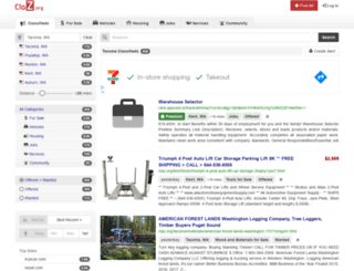 tacoma.claz.org screenshot
