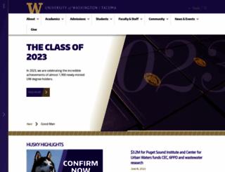 tacoma.uw.edu screenshot