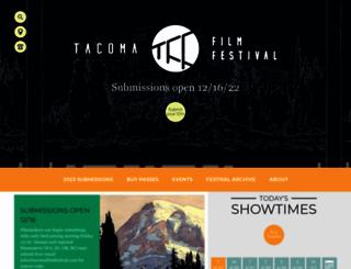 tacomafilmfestival.com screenshot