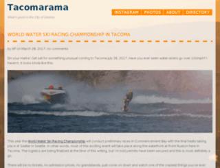 tacomarama.com screenshot