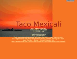 tacomexicali.com screenshot