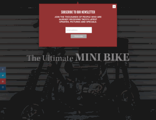 tacominibikes.com screenshot