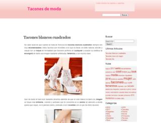 taconesdemoda.net screenshot