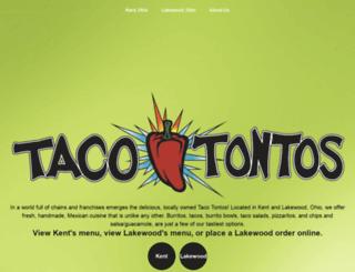 tacotontos.com screenshot