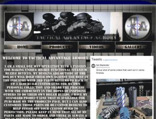 tactical-advantage-armory.com screenshot
