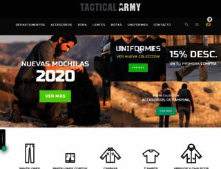 tacticalarmy.net screenshot