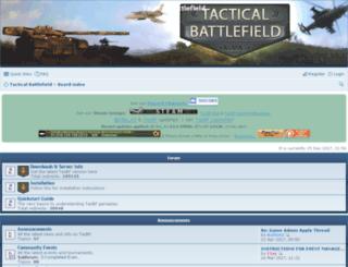 tacticalbattlefield.net screenshot