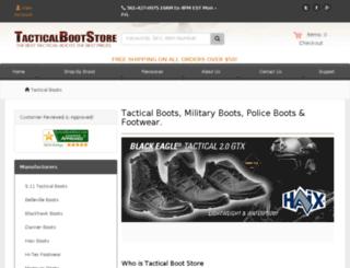 tacticalbootstore.com screenshot