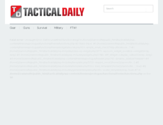 tacticaldaily.com screenshot