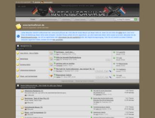 tacticalforum.de screenshot