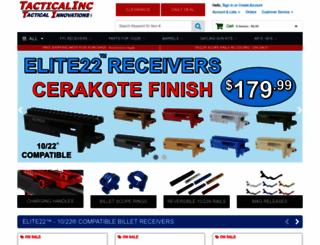 tacticalinc.com screenshot