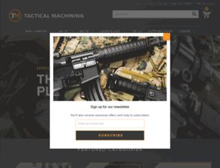 tacticalmachining.com screenshot