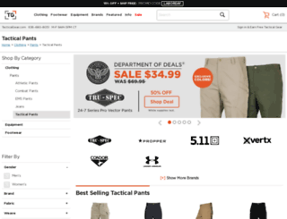 tacticalpants.com screenshot