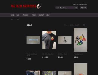 tacticalresponsegear.com screenshot
