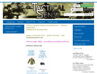 tacticalsense.com screenshot