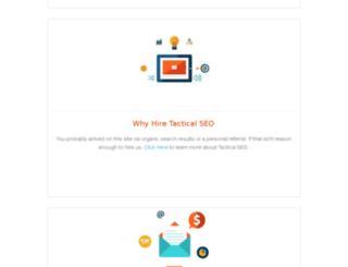 tacticalseo.com screenshot