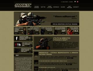 tacticaltraining.cz screenshot