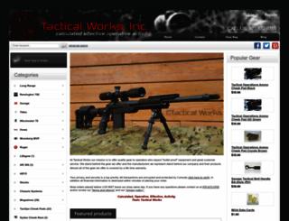 tacticalworks.com screenshot