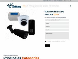 tacticasenseguridad.com screenshot