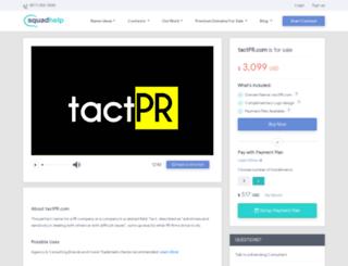 tactpr.com screenshot