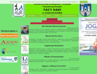 tacy-sami.czest.pl screenshot
